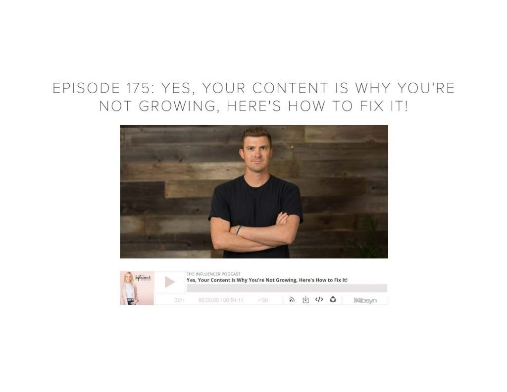 The Influencer Podcast interviews 4X Effect Video