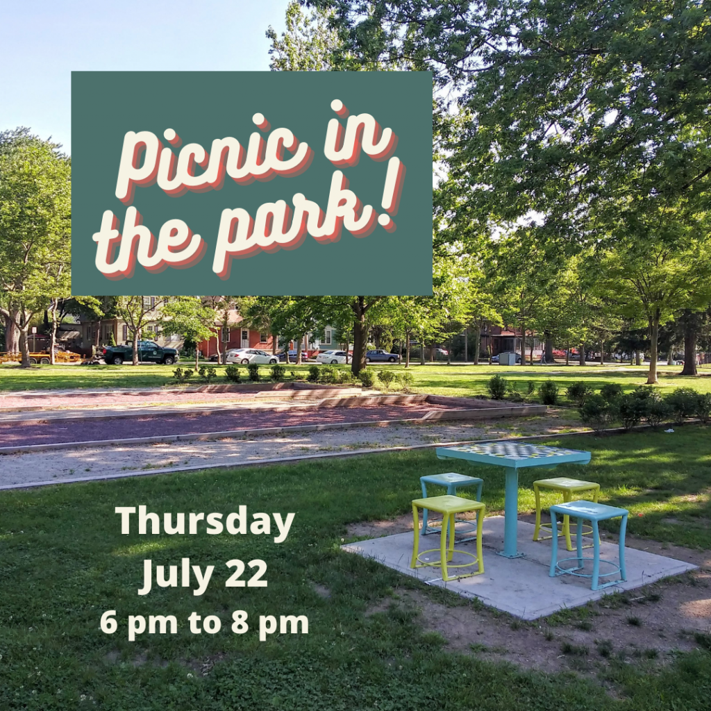 Get ready for some fun with a picnic in the park