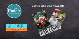The Huddle and Dames Who Dine convene on October 12